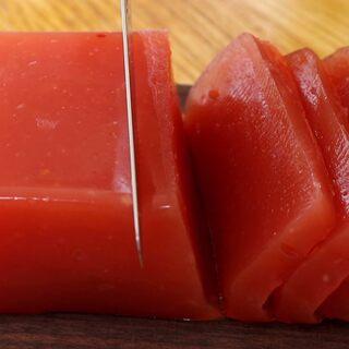 天热没胃口,用番茄做成冰糕,好吃#美食#@秋霞网小助手