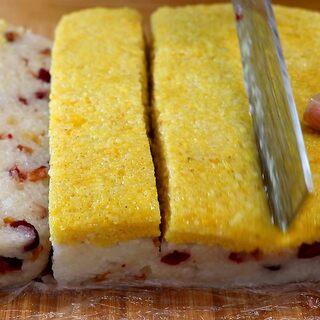 自制西贝黄米凉糕,家庭配方简单易学#美食#@美拍小助手
